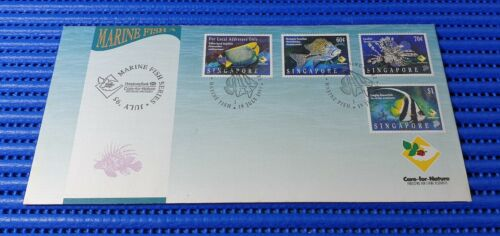 1995 Singapore First Day Cover HSBC Care for Nature Marine Fish Stamp Issue