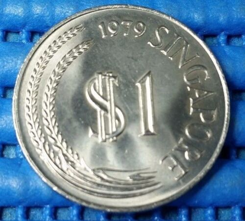 1979 Singapore $1 Stylised Lion Coin