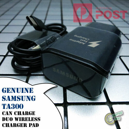 Original Genuine Samsung EP-TA300 FAST AC WALL CHARGER for Duo Wireless Charger
