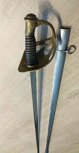 SABER/SWORD OF CAVALRY OFFICER model 1923 with scabbardOriginal Period Items - 4070