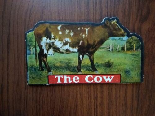 Antique Children's Shaped Book The Cow Valentine & Sons, Limited Undated