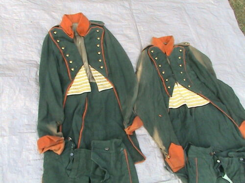 OLD IMPERIAL RUSSIA UNIFORM with TROUSERS - 2 SETS - BARGAIN !!!Russia - 156412