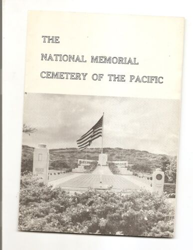 NATIONAL MEMORIAL CEMETARY OF THE PACIFIC BROCHURE 1972 HONOLULU HAWAII PamphletReproductions - 156472