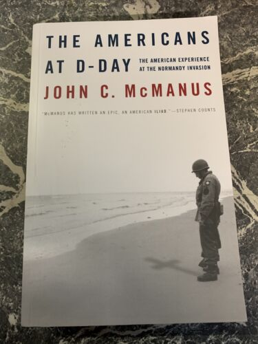 VINTAGE BOOK WAR WW2 PAPERBACK AMERICANS AT D DAY MCMANUS NORMANDY INVASION 101939 - 1945 (WWII) - 13977
