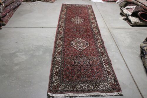C 1960 Stunning Antique Vintage Exquisite Hand Made Hand Knotted Rug 10x2.10