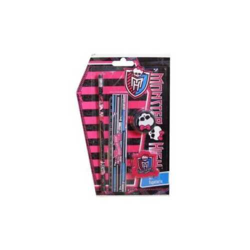 Set Papeterie 4 Pièces MONSTER HIGH NEUF Fourniture scolaire