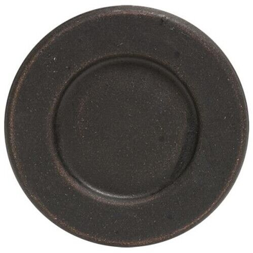 Black Weathered Wooden Plate With Rim Gathering Americana Primitive Farm