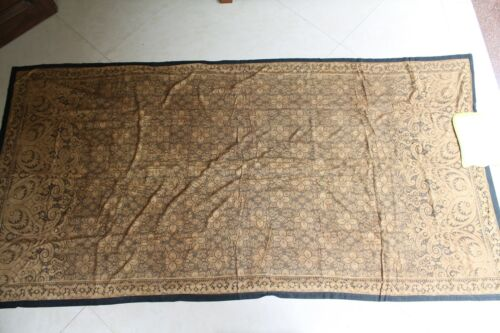 Cotton Floral Design Lace Net Pichwai Made In Germany For Indi@n Market NH5209