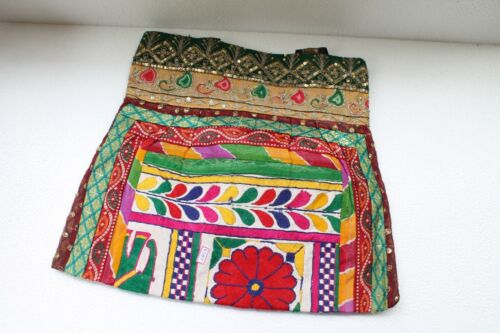 Tribal Ethnic Old Textile Cloth Used To Make Modern Shopping Hand Bag NH2888