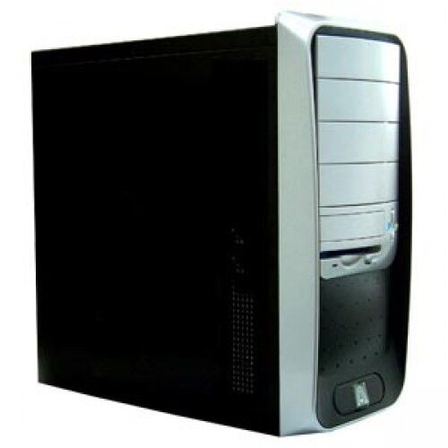Aopen Quality QF50C Black Mid Tower Case No Power Supply