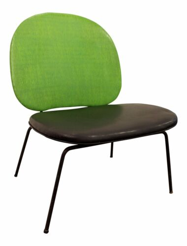 Mid-Century Danish Modern Paul McCobb-Style Lime Green Wire Side/Accent Chair