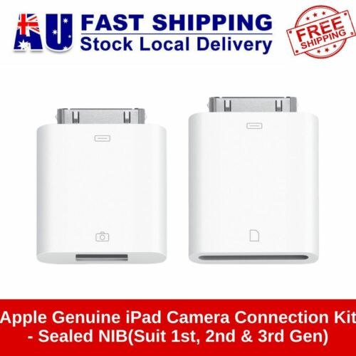 New Apple Genuine iPad Camera Connection Kit -Suit 1st, 2nd & 3rd Gen A1362