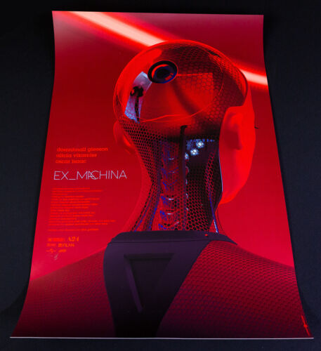 Ex Machina SIGNED Regular Edition Art Print by Laurent Durieux MONDO Gallery