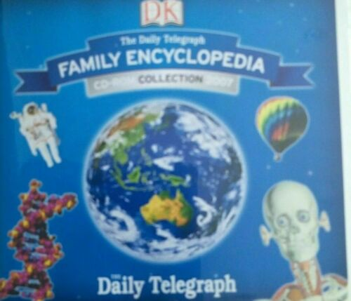 DK FAMILY ENCYCLOPEDIA CD ROM COLLECTION 2007 - 13 DISKS