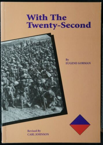 WW1 Australian With The Twenty Second 22nd Battalion AIF Reference Book
