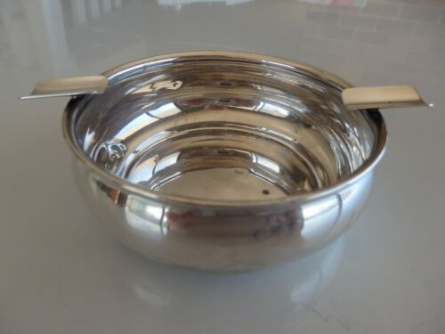 Very large sterling silver ashtray by Webster No. 19836.