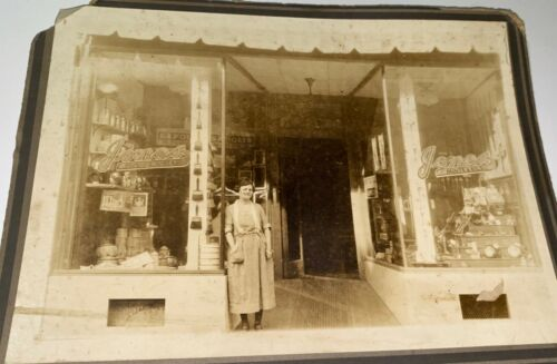 Rare Antique American Occupational Advertising Storefront Maryland Cabinet Photo
