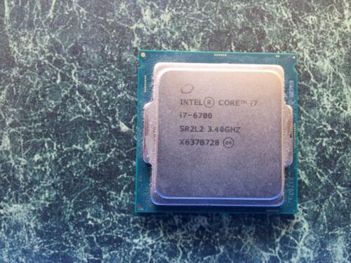 Intel Core i7 6700 3.4GHz processor TESTED AND WORKING