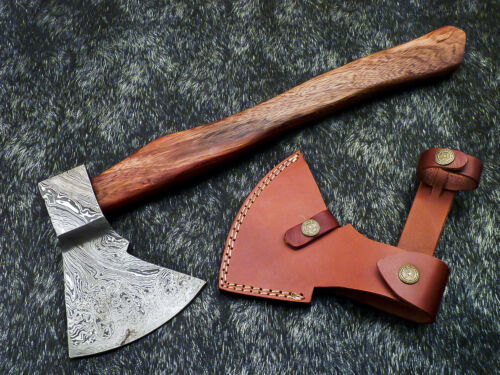 """New Beautiful Handmade Damascus Steel AXE """"UNIQUE AXE"""" Limited Edition WD-9443"""