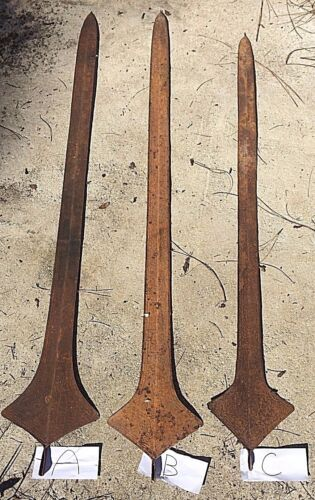 PRIMITIVE GIANT LIGANDA (CONGO - AFRICA) SPEAR MONEY / BRIDE'S PRICE GENUINE
