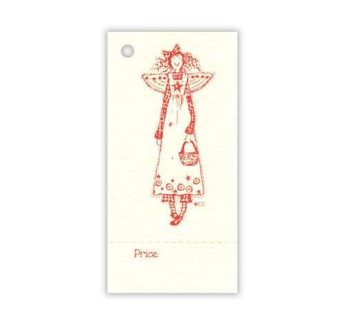 50  *BUTTON  ANGEL*  HANG TAGS PRICE COUNTRY CRAFTS