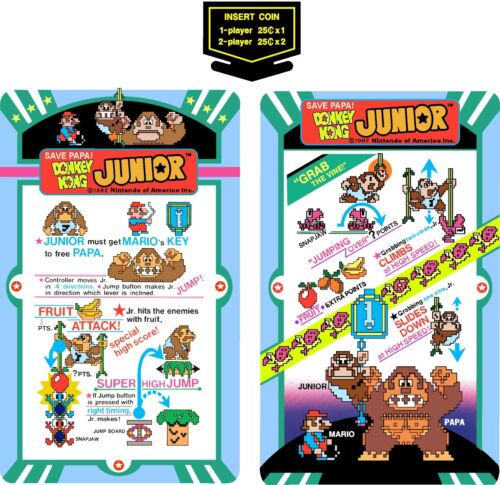 Top Holiday Gifts Arcade Donkey Kong Junior Cocktail Set