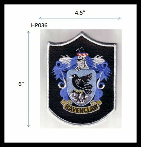 RAVENCLAW LARGE QUIDDITCH PATCH - HP036