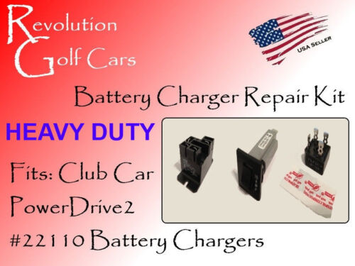 Battery Charger Repair Kit, 48 Volt PowerDrive2 #22110, for Club Car Chargers <br/> HEAVY DUTY 50 AMP VERSION