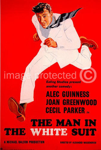 The Man in the White Suit Vintage Movie Poster -24x36
