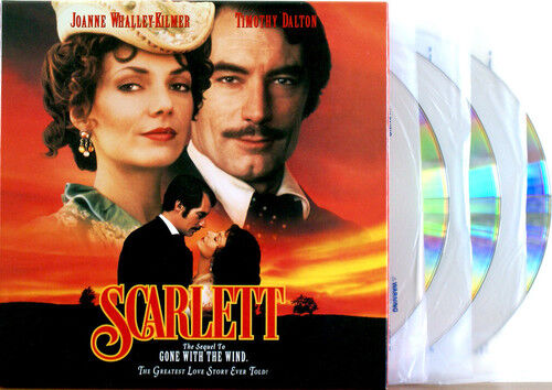SCARLETT Sequel to Gone With The Wind 3 Disc Box Set Laserdisc NTSC HARD TO FIND