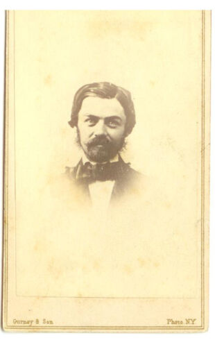 CDV MAN W/ GREAT BEARD AND MUSTACHE