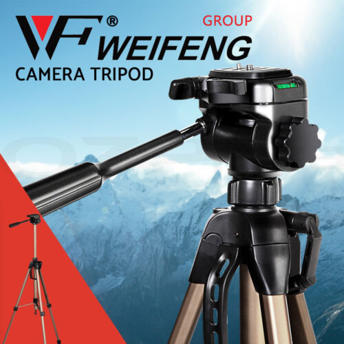 Weifeng Professional Camera Tripod Monopod Stand DSLR Ball Head Mount Flexible <br/> ✔Aluminium made ✔Adjustable height ✔With carry bag