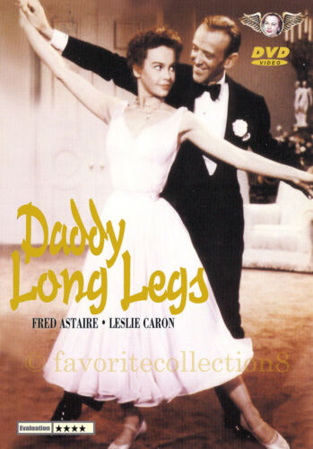 Daddy Long Legs (1955) - Fred Astaire, Leslie Caron - DVD NEW