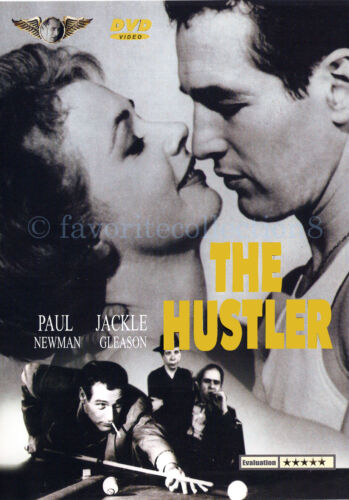 The Hustler (1961) - Paul Newman, Piper Laurie - DVD NEW