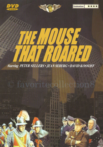 The Mouse That Roared (1959) - Peter Sellers, Jean Seberg - DVD NEW