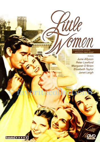 Little Women (1949) - Elizabeth Taylor, Peter Lawford, Margaret O'Brien- DVD NEW