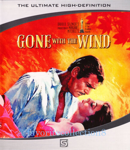 Gone with the Wind (1939) - Clark Gable, Vivien Leigh - BLU - RAY DVD NEW