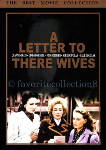 A Letter to Three Wives (1949) - Jeanne Crain, Kirk Douglas (Region All)