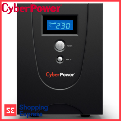 CyberPower Value LCD USB Surge Protection 2200VA/1320W SOHO UPS 4 Outlet