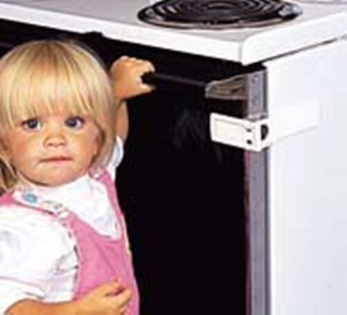 Safety 1st Child & Baby Proof Lightweight Heat Resistant Oven Lock Latch - 72328
