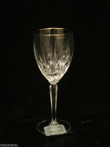 Lenox clarity antiques us - Lenox gold rimmed wine glasses ...