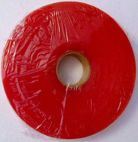 """Red Liner (Sensi-Tak) tape 1"""" x 36 yards lace hairpiece wig toupee tape"""