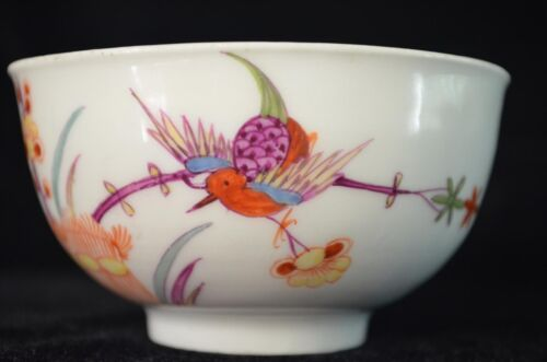 EXTREMELY RARE ANTIQUE 18th GERMAN PORCELAIN CUP MEISSEN KAKIEMON JAPANESE STYLE