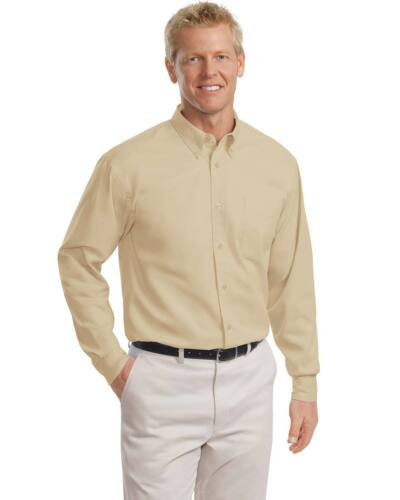 Port Authority Men's Big & Tall Long Sleeve Button Down Dress Shirt. TLS608