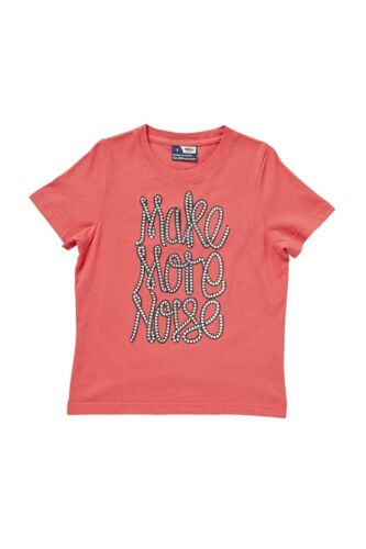 Genuine Mossimo Children Boys Make More Noise T Shirt sizes 3 4 5 6 7 Coral