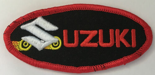 B020902 Suzuki Boulevard Motorcycles embroidered cloth patch