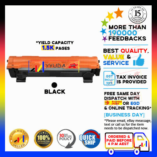 1 x NoN-OEM TN1070 TN 1070 Toner for Brother HL1110 DPC1510 MFC1810  1500pages