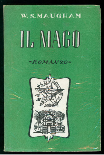 MAUGHAM WILLIAM SOMERSET IL MAGO BIETTI 1943 I° EDIZ.
