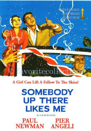 Somebody Up There Likes Me (1956) - Paul Newman, Pier Angeli - DVD NEW