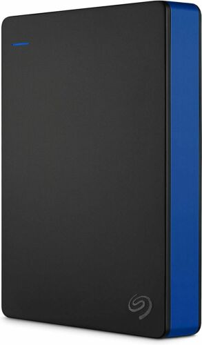 Seagate 4TB Game Drive External Drive for PS4 Portable HDD Hard drive Blue NEW